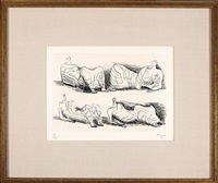 reclining figures by henry moore