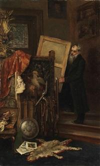 beim kunsthändler by rudolf konopa