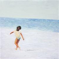 on the beach by hedva galili smolinsky