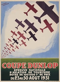 coupe dunlop by posters: planes