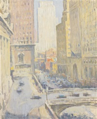 42nd street & park avenue by edmund william greacen