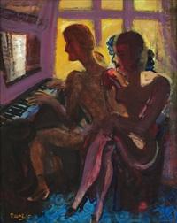 dvě dívky u klavíru by pravoslav kotik