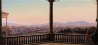 rom panorama by carl ludwig rundt