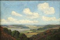 California Landscape. oil on canvas