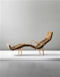 pernilla chaise longue by bruno mathsson