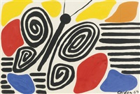 black butterfly by alexander calder