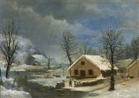 winter by robert scott duncanson