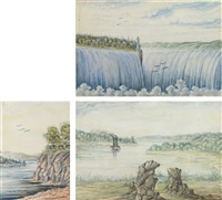 niagara falls (+ 2 others; 3 works) by franz holzlhuber