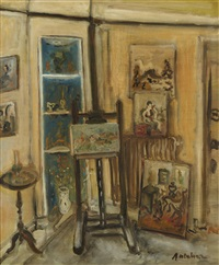 atelier d'artiste by isaac antcher