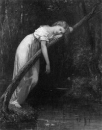 ophelia by william morris hunt