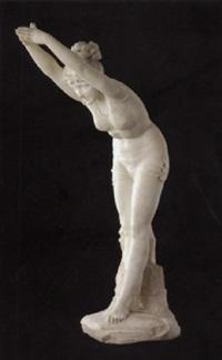 tuffolina (jeune fille plongeant) by odoardo tabacchi