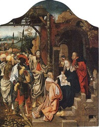 the adoration of the magi by jan de beer