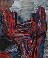 rød og blå komposisjon by knut rumohr