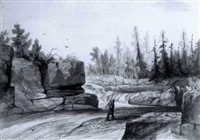 on the nipisiquit, new bruns- wick and golding gorge, upper potomac: (two works). by charles lanman