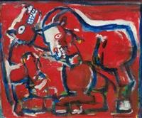 horses by eugeniusz markowski