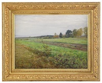 the fields in late summer by vassili mitrofonovich alexeiev