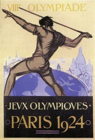 jeux olympiques paris poster by orsi