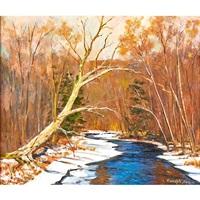 larry's creek, jersey shore, pa by ranulph bye