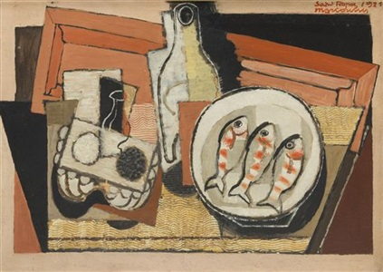 artwork by louis marcoussis