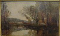 paysage d'automne by louis appian