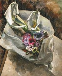 bouquet d'anémones by jean reschofsky