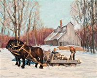 sugar bush by bruce heggtveit