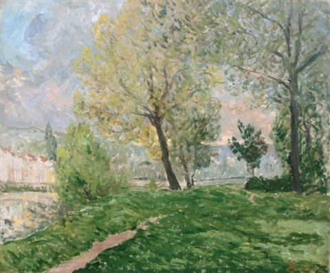 bords de marne by maxime maufra