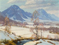 march day, looking from wide acres toward boulder by frank varva