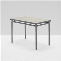 table from cité de refuge de l'armée du salut, paris by le corbusier