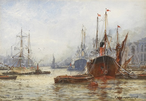 woolwich reach london by frederick william scarborough