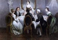 le souper by léonard saurfelt