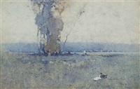 the lake by jesse jewhurst hilder