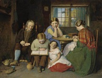 the evening lesson by edward thompson davis