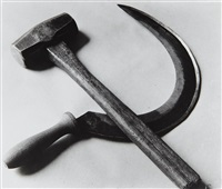 hammer and sickle by tina modotti