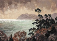 killiney bay, county dublin by mabel young