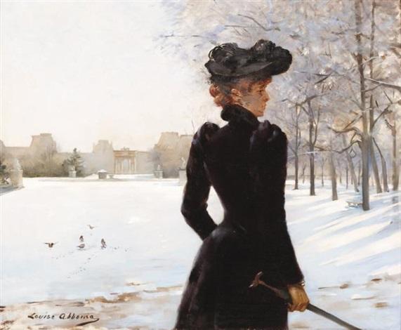 le manteau de loutre by louise abbéma