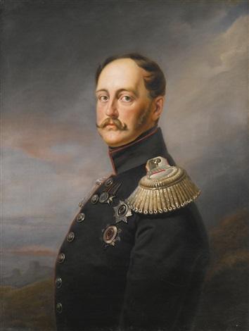 portrait of nicholas i by franz krüger