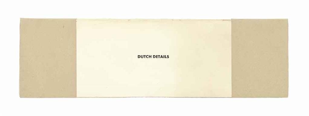 dutch details by ed ruscha