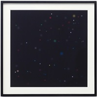 night sky prints: sirius 2 (diptych) by angela bulloch