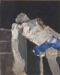 study of boxer by keith vaughan