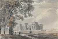 windsor castle, berkshire (from the south-east) by james miller