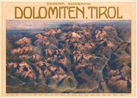 dolomiten, tirol by gustav jahn