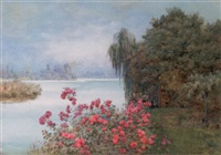 the lake, hever by edith helena adie