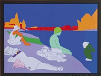 deconstructing seurat by michael craig-martin