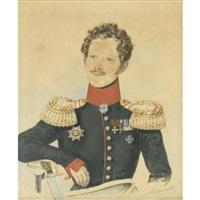 portrait of baron egor fedorovich meyendorf by alexeev