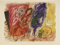 maternité by marc chagall