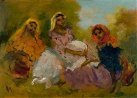 gypsies resting by doris (michalis papageorgiou)