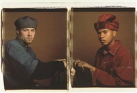 brian and paul (diptych) by dawoud bey