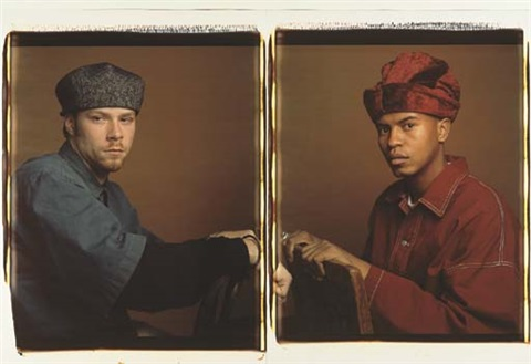 brian and paul diptych by dawoud bey