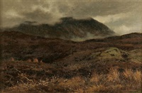 low clouds on the heath by reginald aspinwall